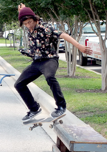Texas Skate @ Front Porch Days 2012 by seanclaes