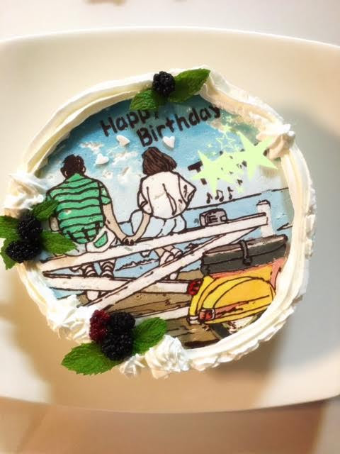 イラストケーキ 作り方
