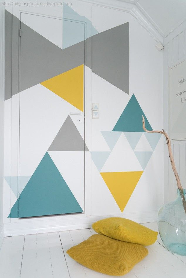 Geometric Wall Design.