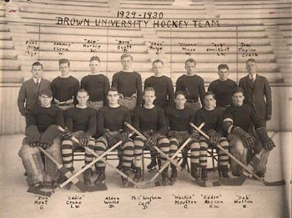 1929-30 Brown Bears team, 1929-30 Brown Bears team