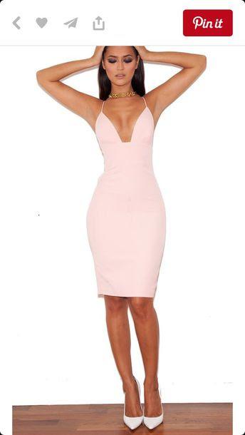 White strappy lace contrast bodycon dress