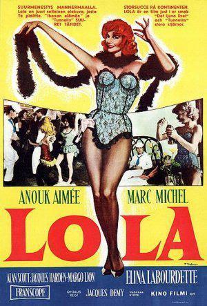 Resultado de imagem para lola 1961 jacques demy poster
