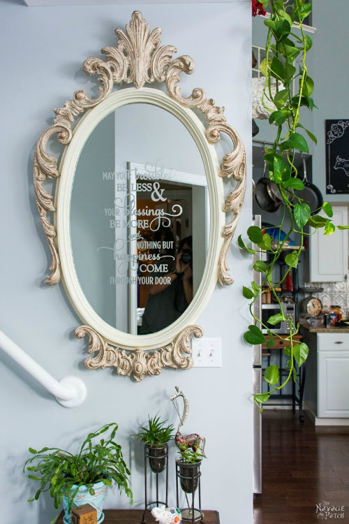 Ornate Mirror Makeover