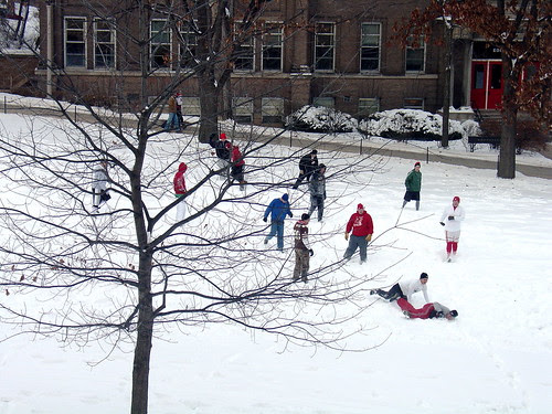 Snow Football