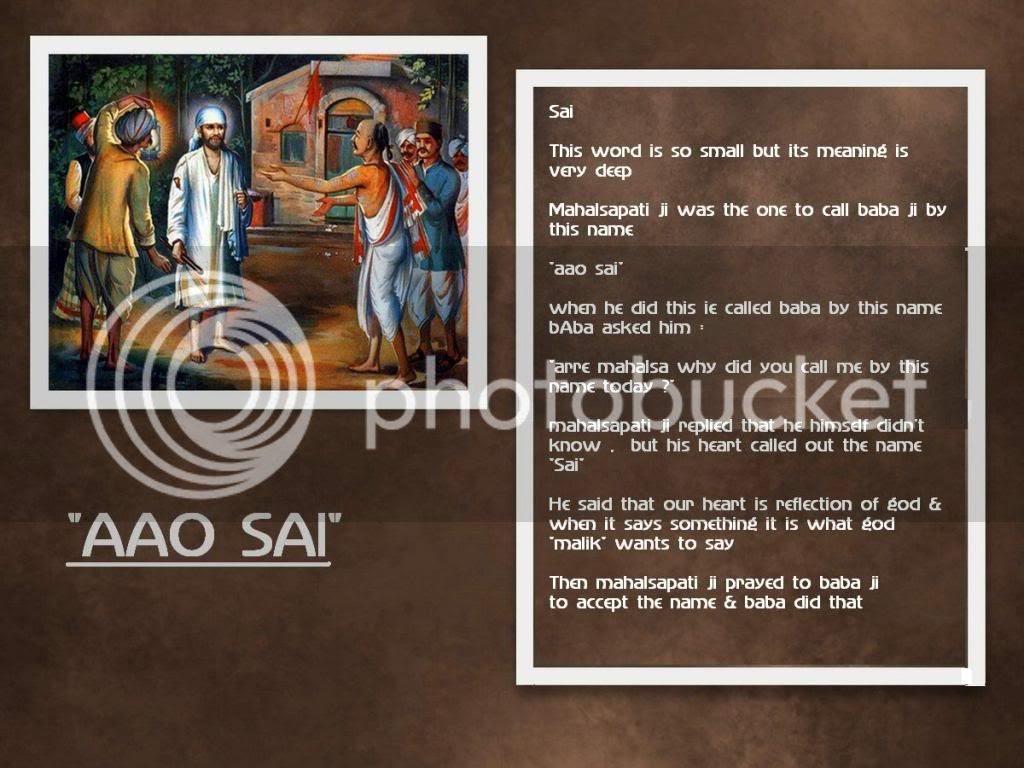Sai Baba Life Depicting Portraits