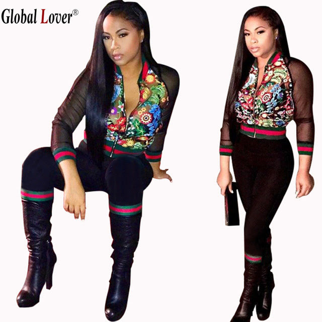 printed track suit women brand 2016 womens sweat suits