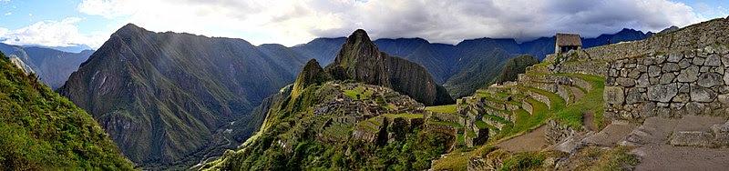 Dibujo 3d De Machu Pichu Estado Actual Eosgis Cartografia Magazine