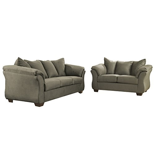 Signature design by ashley darcy living room set in sage for Best sofas 2016