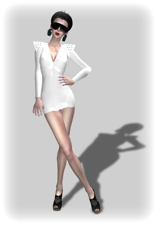 Hot Summer Night 99 Linden Outfit & Shoes