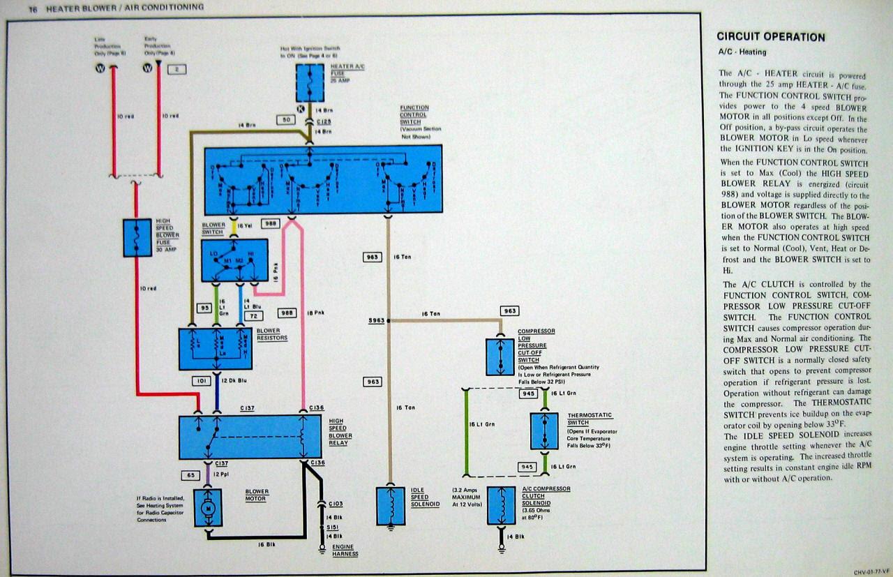 77 Corvette Ac Wiring Diagram