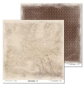 Papier 30x30 cm - Nautical Holidays - 06 Laserowe LOVE
