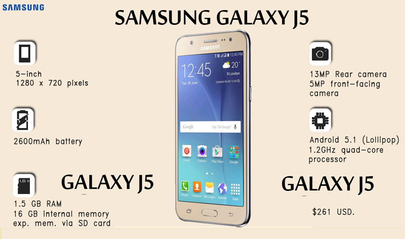 Samsung Galaxy J5 User Guide Manual Free Download Tips and Tricks
