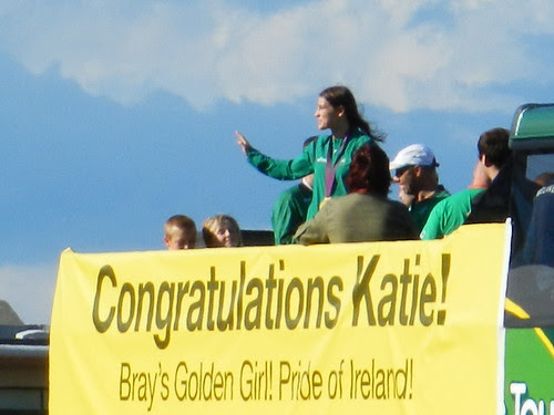 Katie Taylor homecoming event in Bray