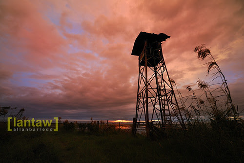 Candaba Watch Tower Afterglow