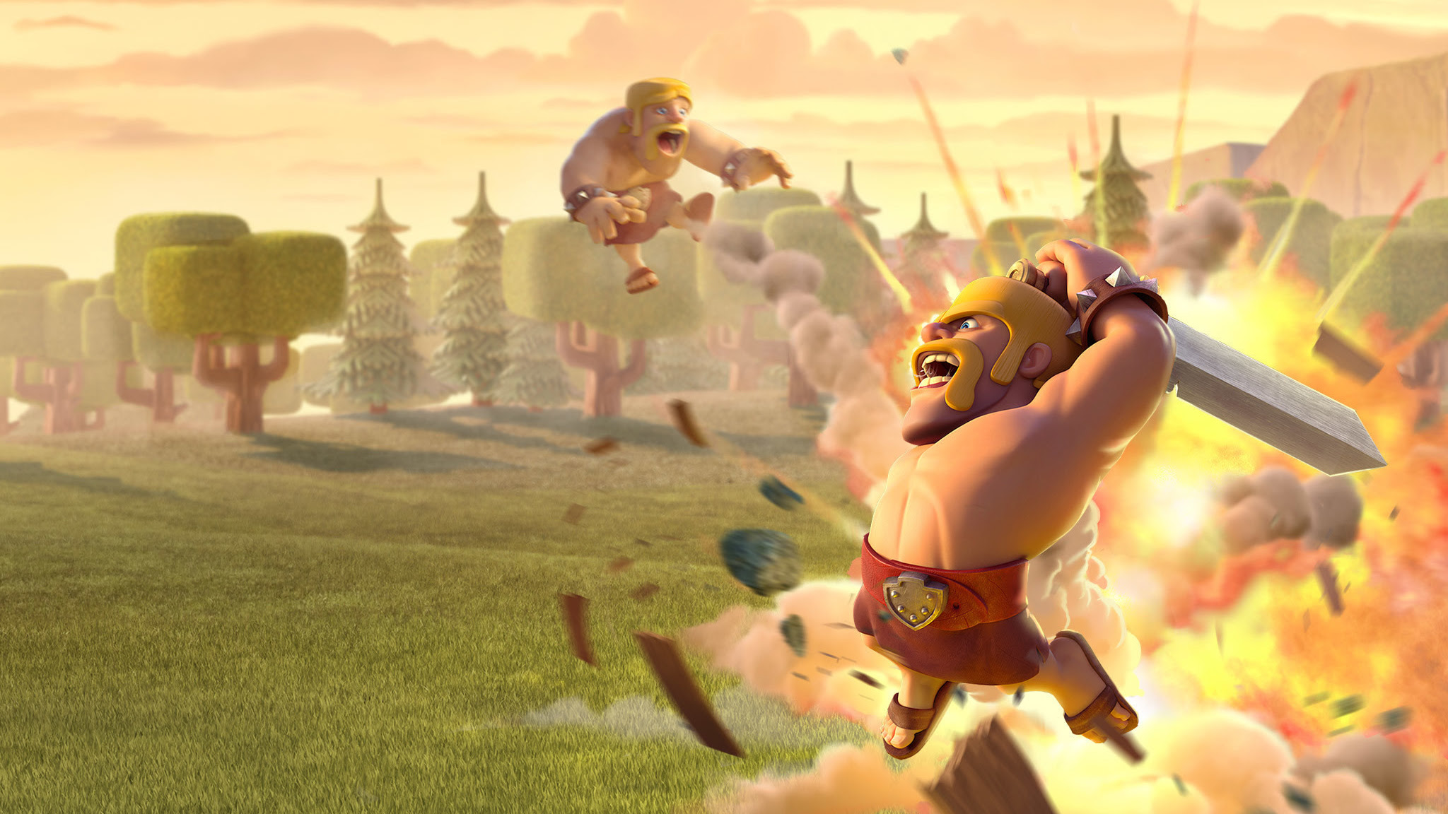Download Clash Clans Pc Wallpaper Hd