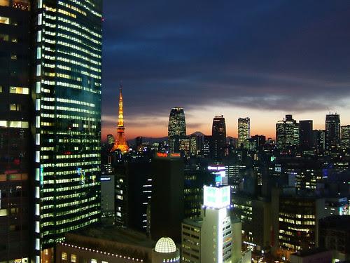Tokyo Tower & Mt. Fuji