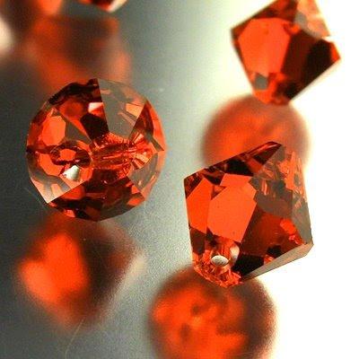 34763011067236 Swarovski Elements - 8 mm Top-Drilled Bicone (6301) - Hyacinth (1)