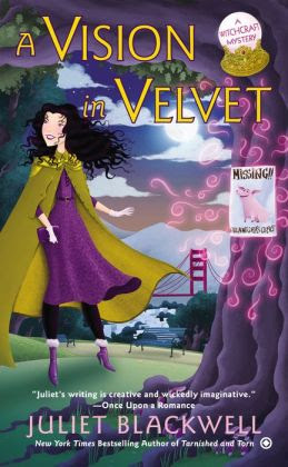 A Vision in Velvet: A Witchcraft Mystery