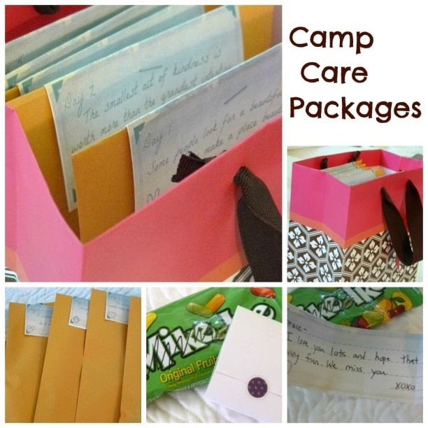 Love Notes Camp Care Packages With Free Printable Dawn Klinge