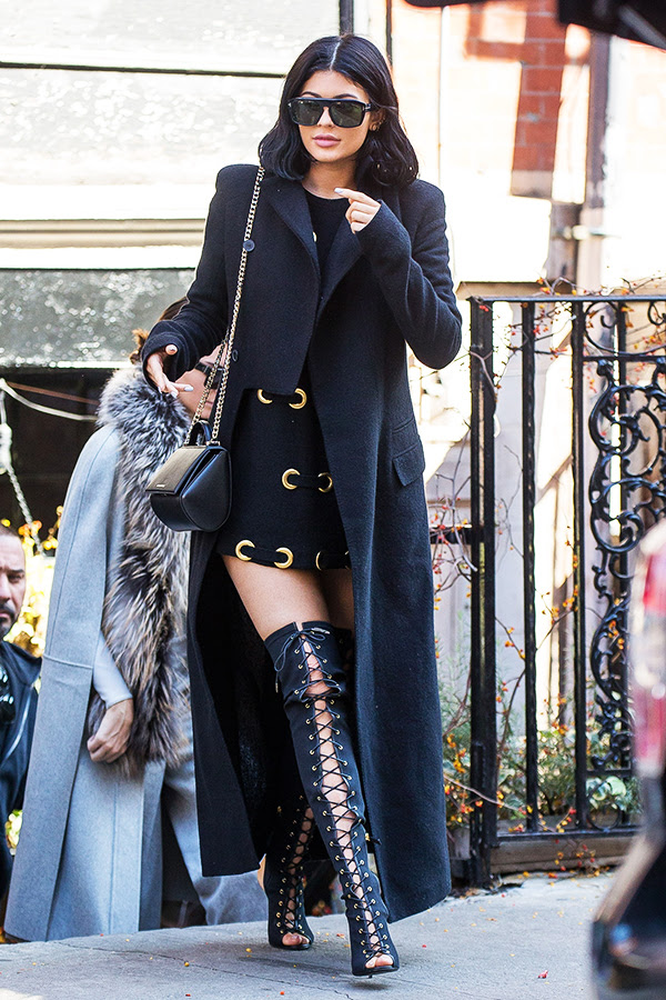 Kylie Jenner Tom Ford Boots