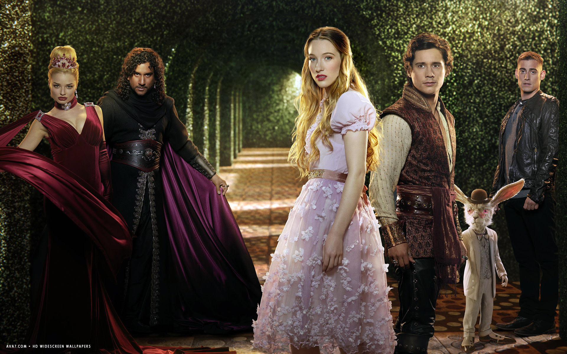 Once Upon A Time In Wonderland Tv Series Show Hd Widescreen