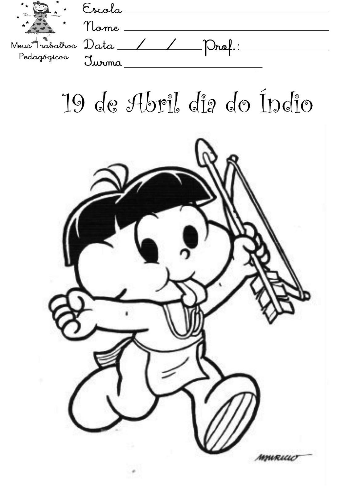 Indio Para Colorear Infantil Dibujos Para Colorear Un Jefe Indio