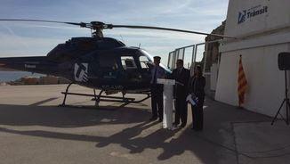 L'helicòpter vigilarà per l'aire els conductors