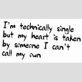 Im Single But My Heart Is Taken Quotes Ialoveniinfo