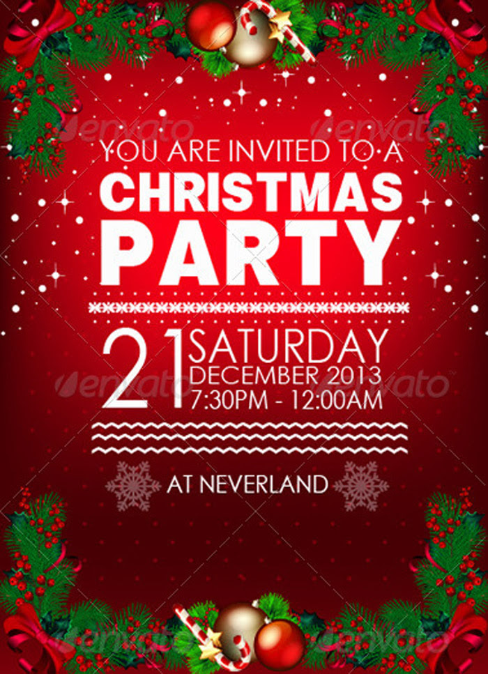 Christmas Party Theme Message - Rindaco