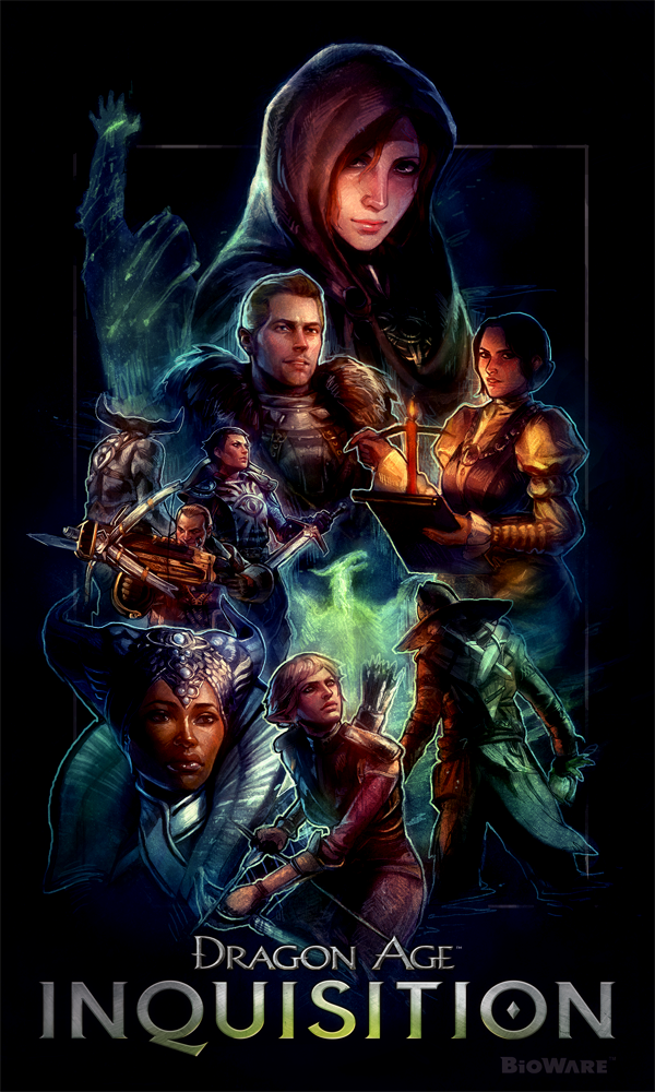 Dragon Age Inquisition by ililaz