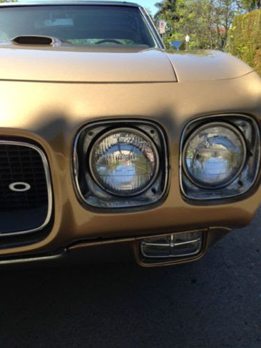 Sell Used 1970 Pontiac Gto Granada Gold Excellent Condition Low Milage 2nd Owner In West
