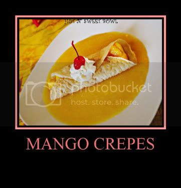 Mango Crepes