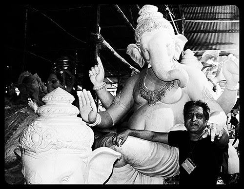 Ganesha Calls Me To Parel And Lalbagh,,,, by firoze shakir photographerno1