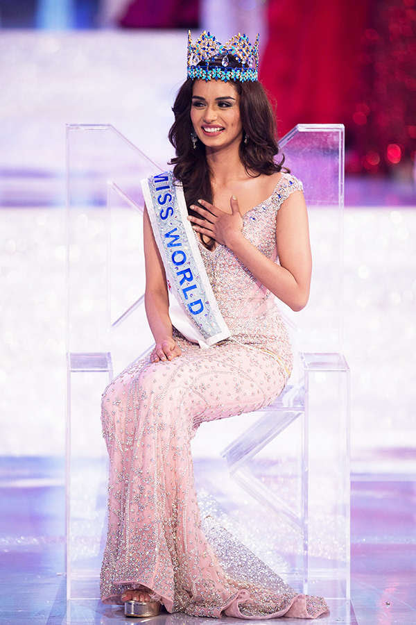 Manushi Chhillar, Miss World 2017.