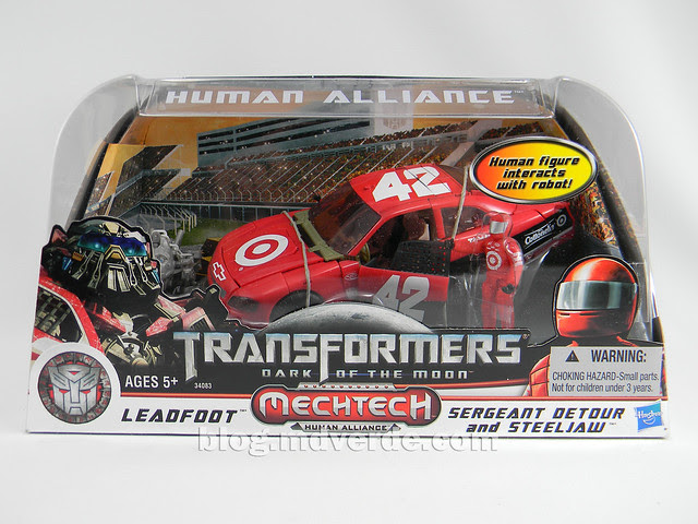 Transformers Leadfoot DotM Human Alliance - caja