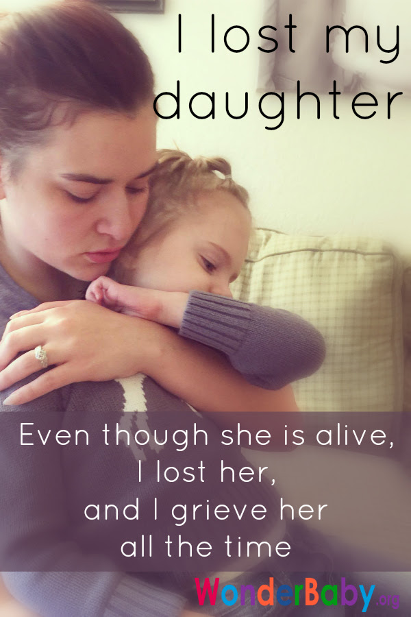 I Lost My Daughter Even Though She Is Alive I Lost Her And I
