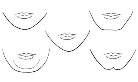 Lo que la forma de tu barbilla revela acerca de tu personalidad