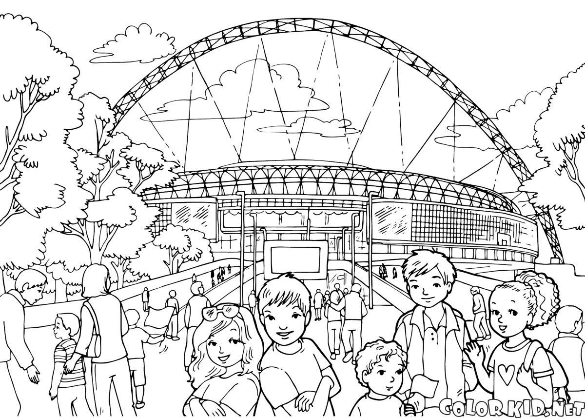 Boyama Sayfası Wembley