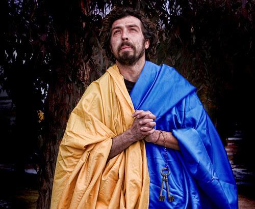 Jorge de la Fuente como San Pedro. Fotografía de Eva Corral