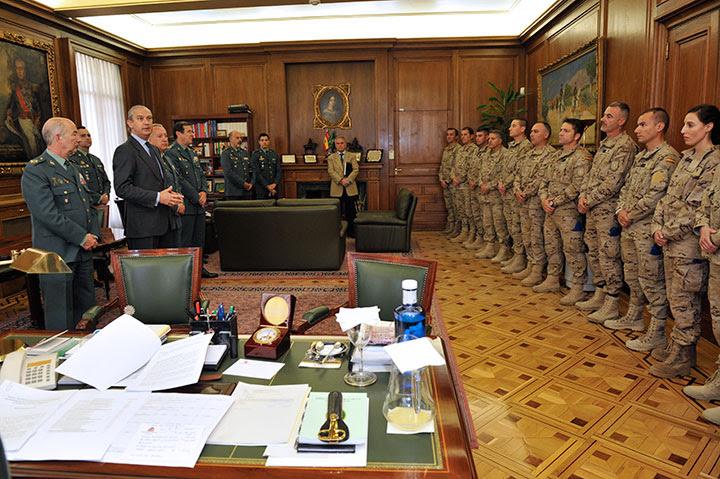El Director General de la Guardia Civil despide a un nuevo relevo del contingente destacado en Afganistán