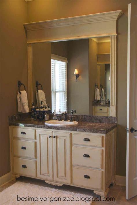 nice   frame  bathroom mirror bathroom ideas