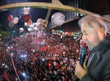 Lula deve acompanhar sessão de julgamento em SP; militância fará ato no fim do dia