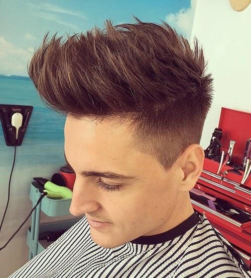 jungs haarschnitt seiten kurz oben lang - trends frisuren