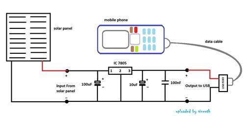 Solar Mobile Charger Circuit Diagram Pdf Circuit Diagram