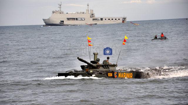 TNI AL Gelar Latihan Perang
