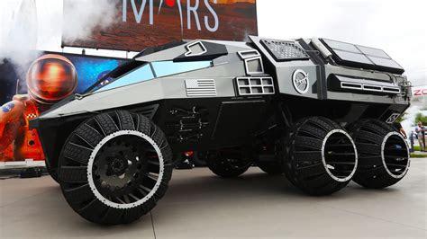 nasa reveals  mars rover concept