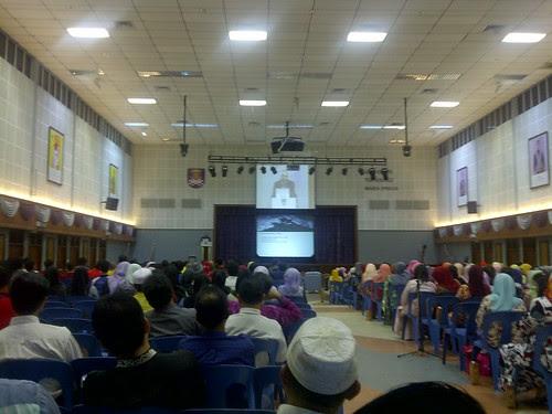 Syarahan Perdana oleh Tan Sri Musa Hassan di UiTM Perlis