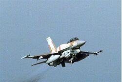 IAF F-16 fighter jet (archive)