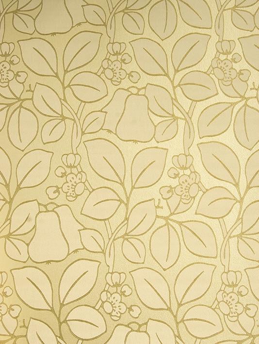Flower Wallpaper Gold DONNA145