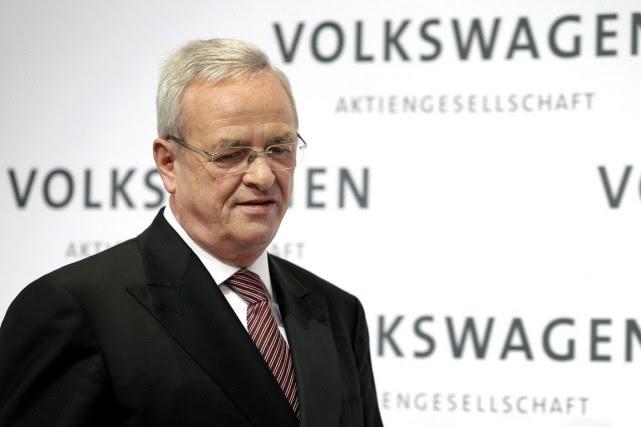 L'ex-patron de VolkswagenMartin Winterkorn.... (Photo Michael Sohn, archives AP)
